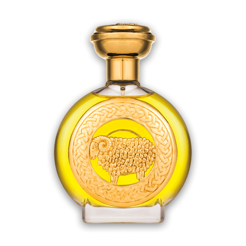 Golden Aries bottle