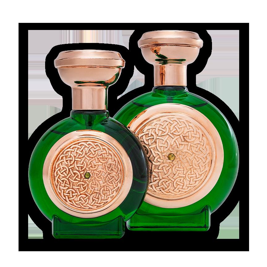Green Sapphire Duo bottle