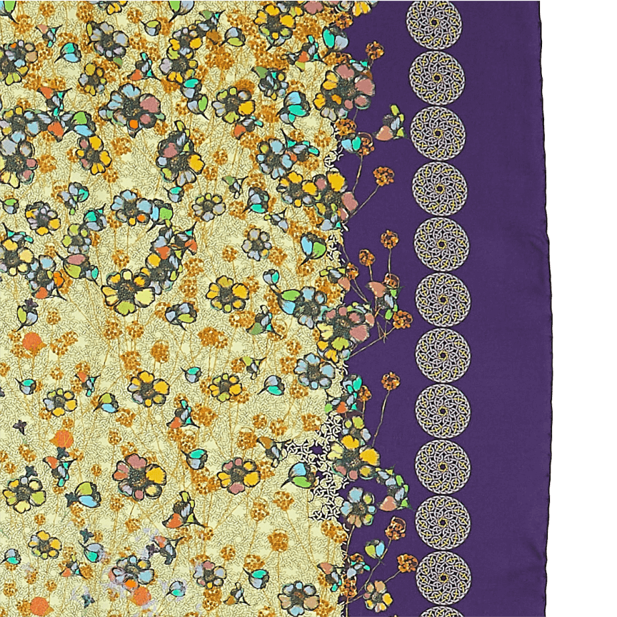 Regal Oudh Purple Scarf