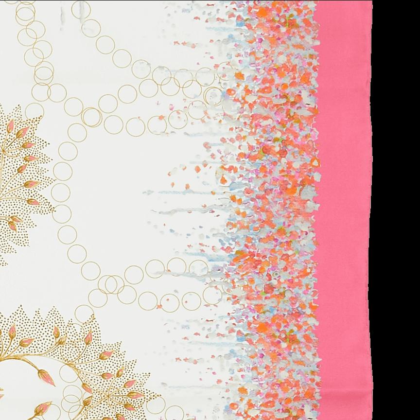 Precious Amber Pink Scarf
